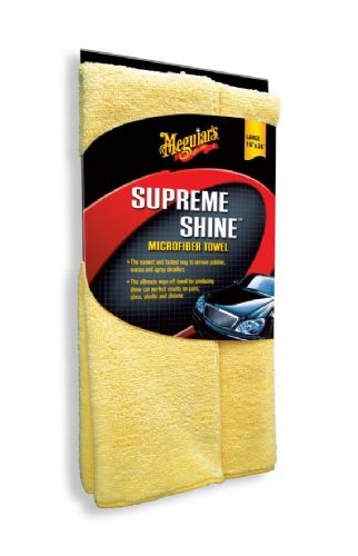 Meguiars Supreme Shine Microfibre Cloths Pack of 3